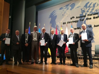 EUSBSR projects acknowledged with Baltic Sea Clean Maritime Award