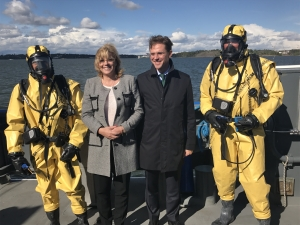 Commissioners Cretu & Katainen getting to know ChemSAR