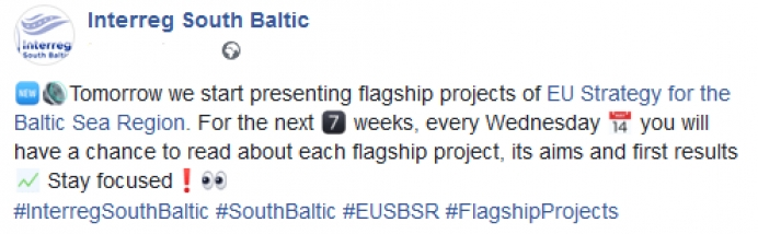Get to know Flagships under Interreg South Baltic Programme!
